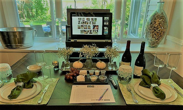 Virtual Wine and Cheese tasting featuring New Picks