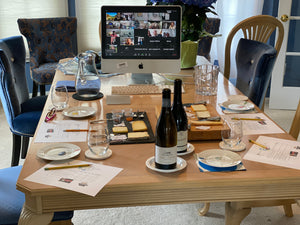 Virtual Cheese and Wine Tasting featuring DESSERT Wines and Cheese !
