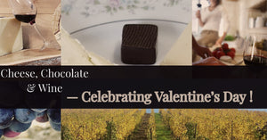 Virtual Cheese and Wine Tasting Celebrating Valentine's Day !