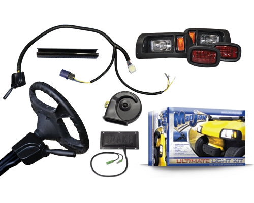 Madjax Complete Ultimate Light Kit – Fits Club Car DS