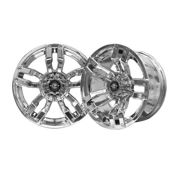 14x7 MJFX Chrome Velocity Wheel