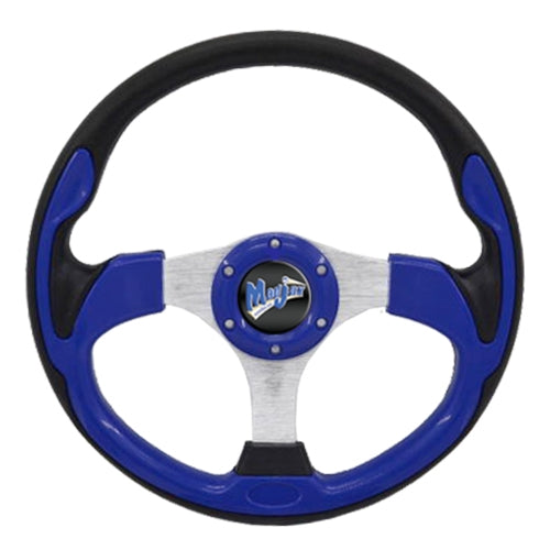 Madjax Black & Blue Ultra2 Steering Wheel (Universal Fit)