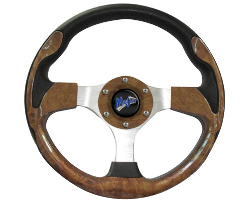 "Madjax 13"" Woodgrain Ultra2 Steering Wheel"