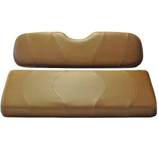 Madjax Wave Moroccan Two-Tone Club Car DS Front Seat Covers (Fits 2000-Up)