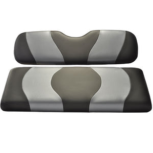 Madjax Wave Black/Dark Gray Carbon Two-Tone Genesis 150 Rear Seat Cushions