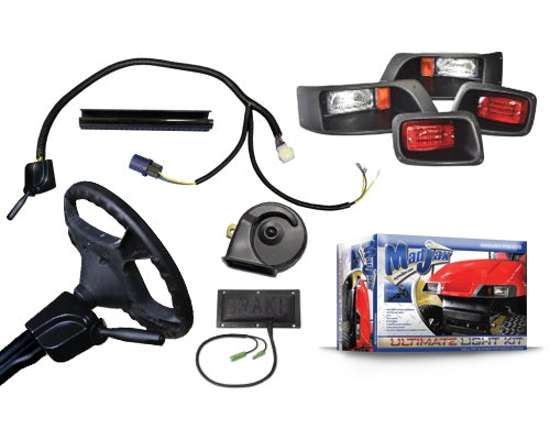 Madjax Complete Ultimate Light Kit – Fits EZGO TXT