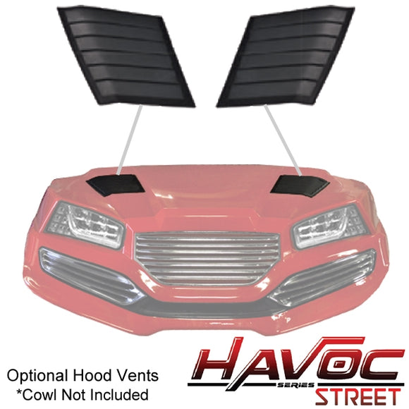 Havoc Series Hood Vents for Yamaha Drive