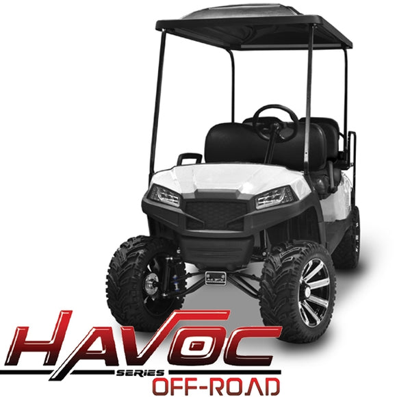 Yamaha G29/Drive HAVOC Off-Road Front Cowl Kit in White (Years 2007-2016)