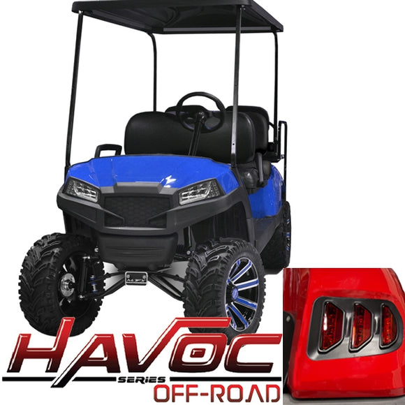 Yamaha G29/Drive HAVOC Off-Road Body Kit in Blue (Fits 2007-2016)