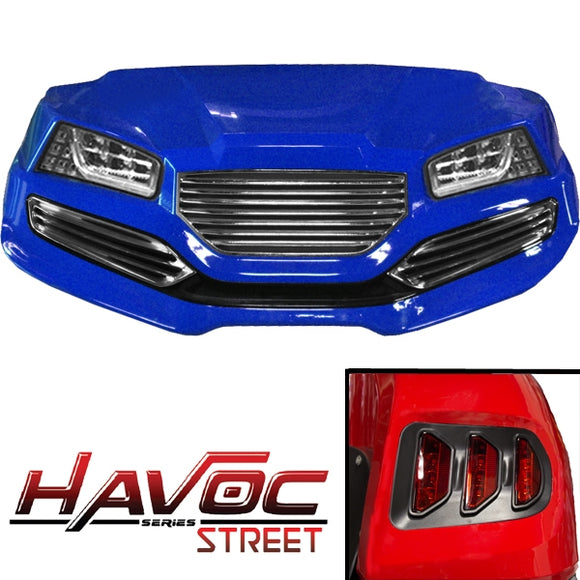 Yamaha G29/Drive HAVOC Street Body Kit in Blue (Fits 2007-2016)