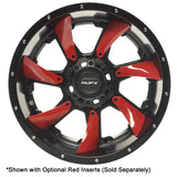 MJFX Directional Colored Inserts For 14x7 Blackhawk Wheel