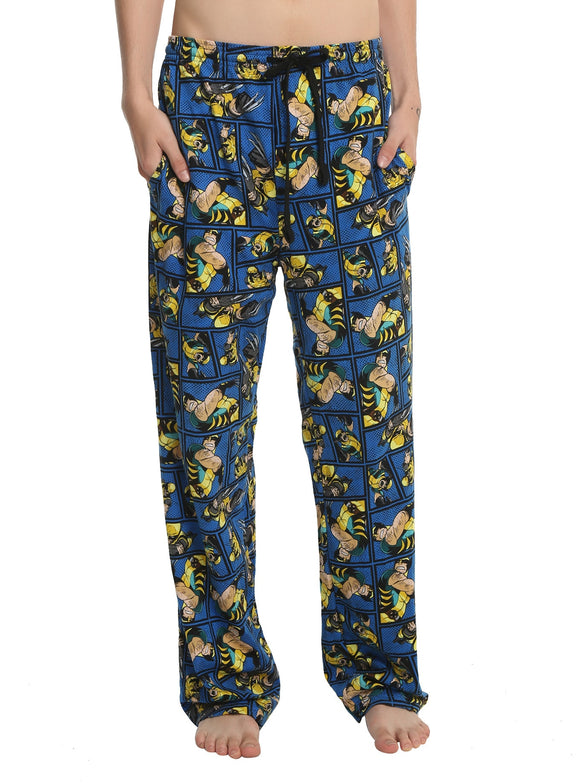 Men's Marvel X-Men Wolverine Pajama Pants