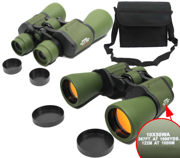 10x50 Forton-CM Army Green Camouflage Color Binoculars