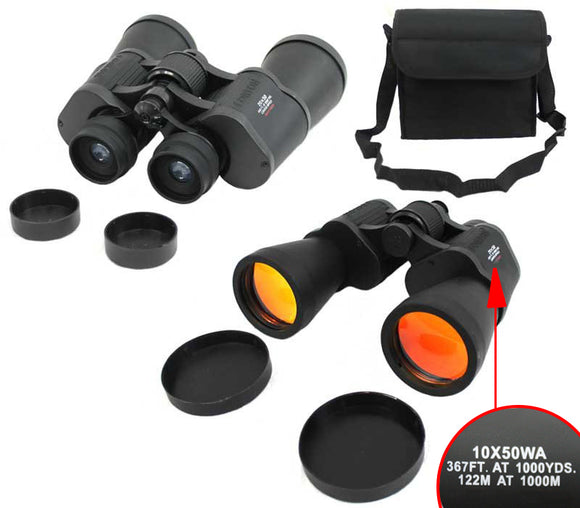 10x50 Forton-BK Black Color Binoculars