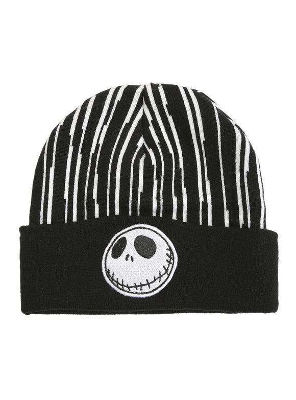 The Nightmare Before Christmas Jack Skellington Pinstripe Watchman Beanie