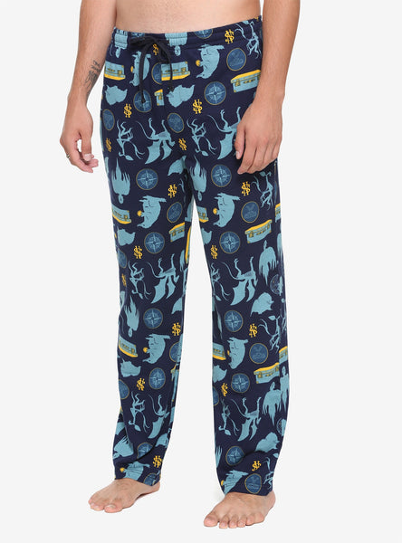 Men's Hot Topic Fantastic Beasts: The Crimes Of Grindelwald Creature Icons Lounge Pants