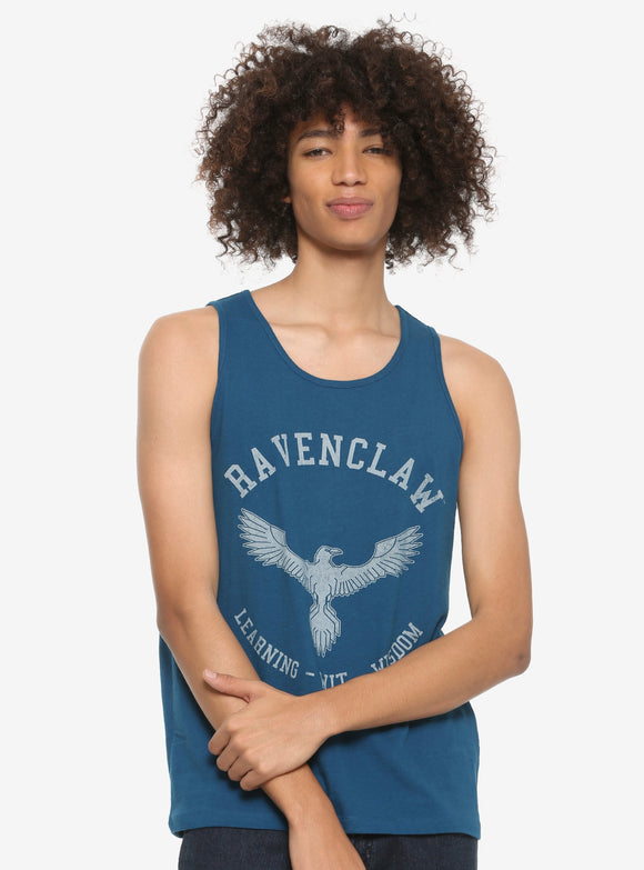 Mens Blue Harry Potter Ravenclaw Tank Top