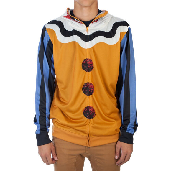 Mens Scary Clown Hoodie Costume Halloween