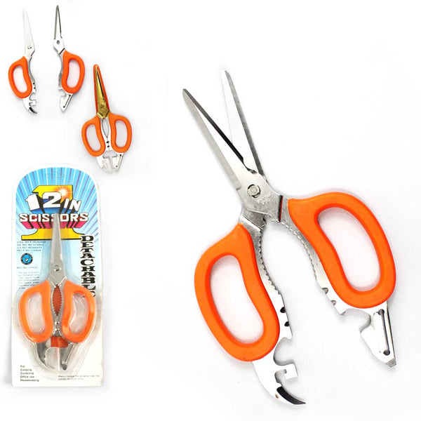 12-1 Multi-Purpose Scissor in blister pack