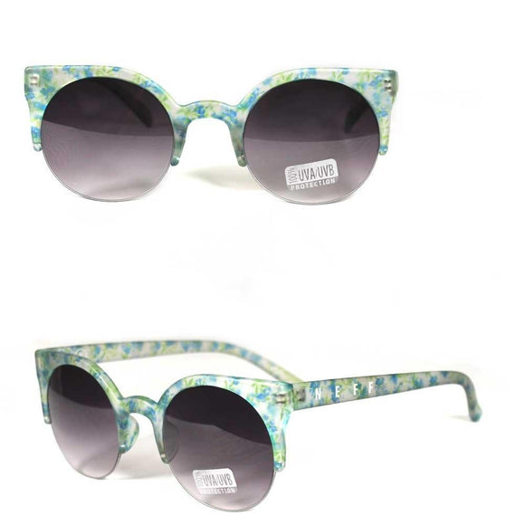Neff Bella 14082 Sunglasses Shades Glasses Womens Floral Print
