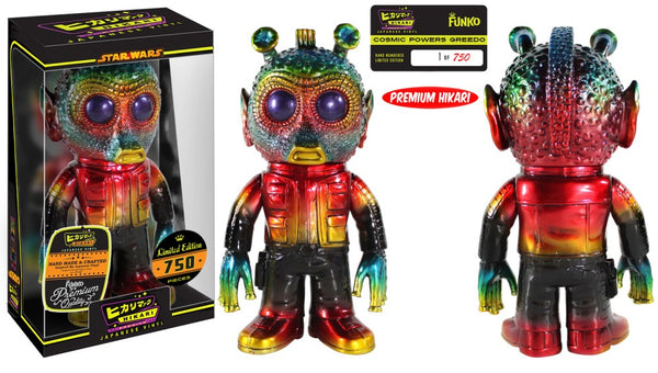 Limited Edition Cosmic Greedo Star Wars Hikari Japanese Vinyl Funko Toy