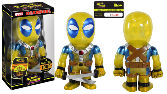 Limited Edition Yellow X-Men Deadpool Marvel Hikari Japanese Vinyl Funko Toy