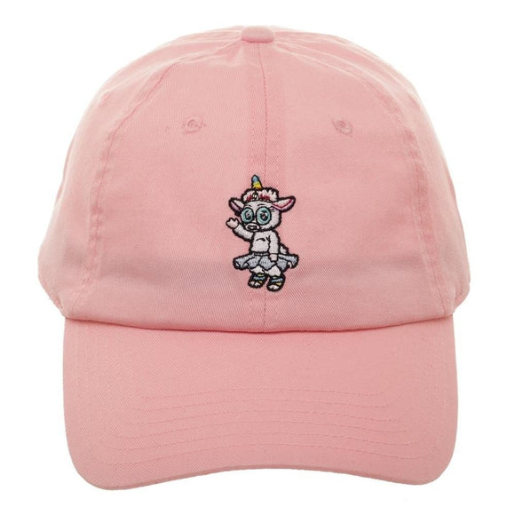Rick and Morty Quick Turn Tinkles Pink Embroidered Adjustable Cap