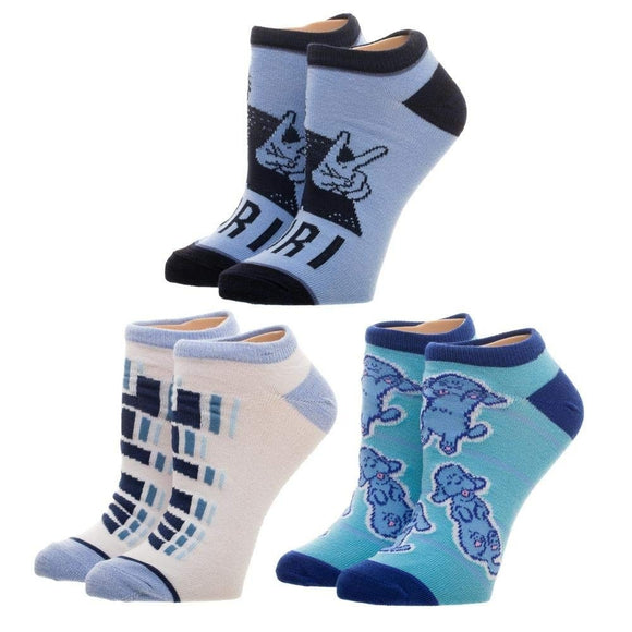 Yuri on Ice!! Yuri on Ice 3 Pack Juniors Ankle Socks Set
