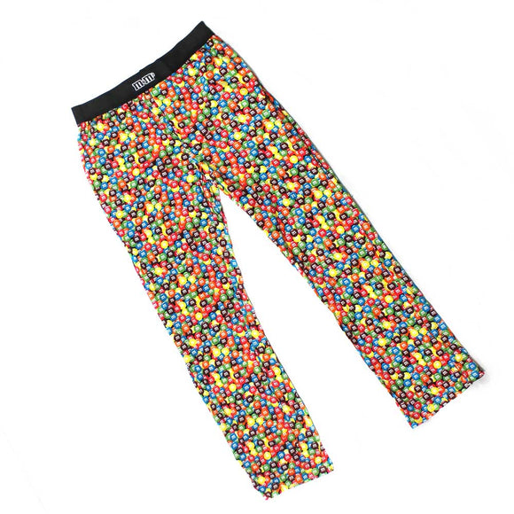 Mens M&Ms M & M Licensed Chocolate Candies Candy AOP Pajama Lounge Pants