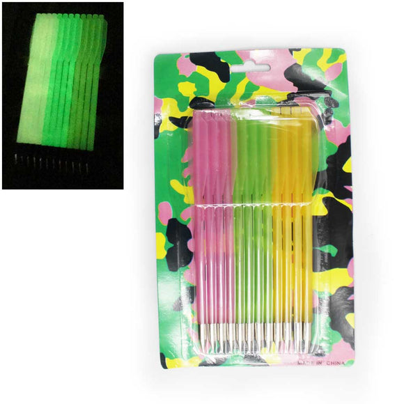 236-12P Glow In The Dark Crossbow Arrows
