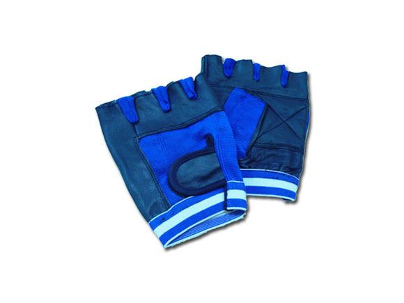 309-BL - Blue Weight Lifting Gloves