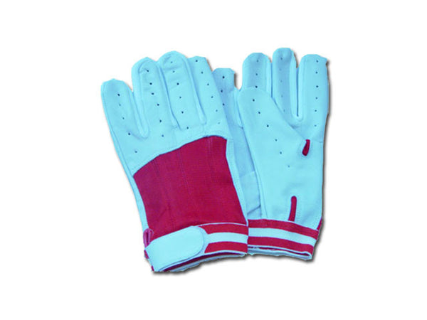 REX 347-RD Red Baseball Batting Gloves