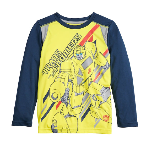 Boys 4-12 Jumping Beans® Transformers Active Long-Sleeve Graphic Tee T-Shirt