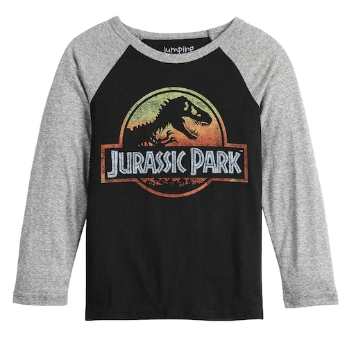 Boys 4-12 Jumping Beans® Long-Sleeve Jurassic Sunset Tee T-Shirt