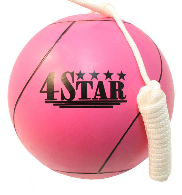 REX 360-PINK Pink Tether Ball for Play Grounds & Picnics with Rope