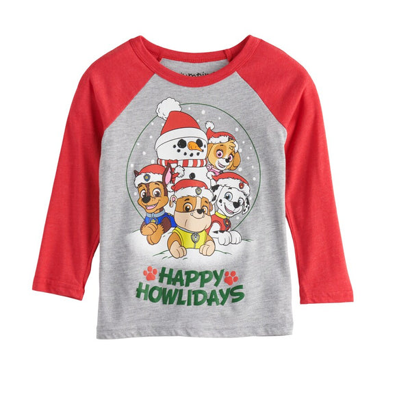 Boys 2T-12 Jumping Beans® Paw Patrol Happy Howlidays Tee T-Shirt
