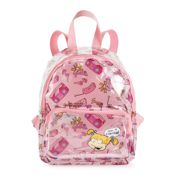 Rugrats Cynthia & Angelica Clear Mini Backpack