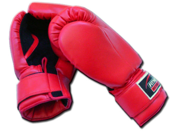 Rex 401-RD 12oz red PU training gloves