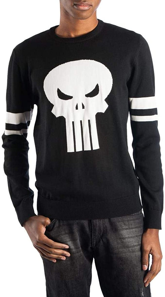 Men's Marvel Punisher Skull Logo Sweater