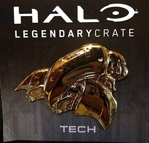 Halo Legendary Crate Exclusive Ghost Gold Variant Metal Pin Tech