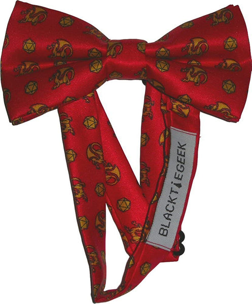 Dungeons & Dragons Bow Tie Geek Loot Crate Exclusive RPG Bow Tie April 2015