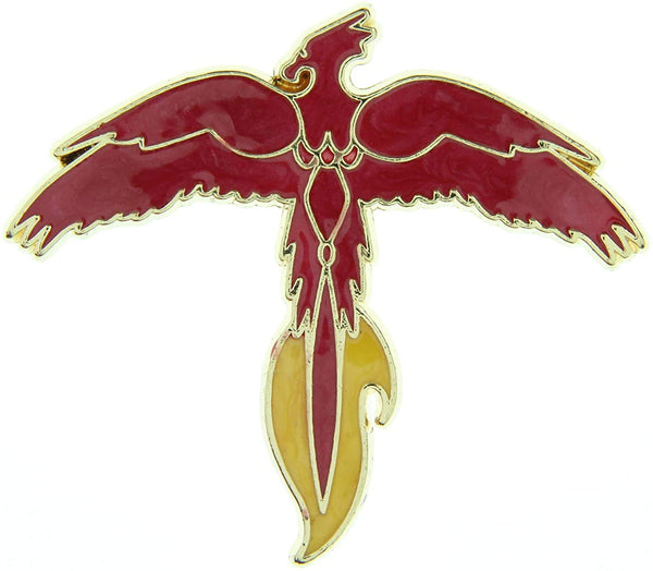 Loot Crate Harry Potter Fawkes Phoenix Enamlel Pin Exclusive