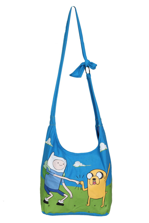 Cartoon Network Adventure Time Fin & Jake Hobo Multi-Purpose Bag