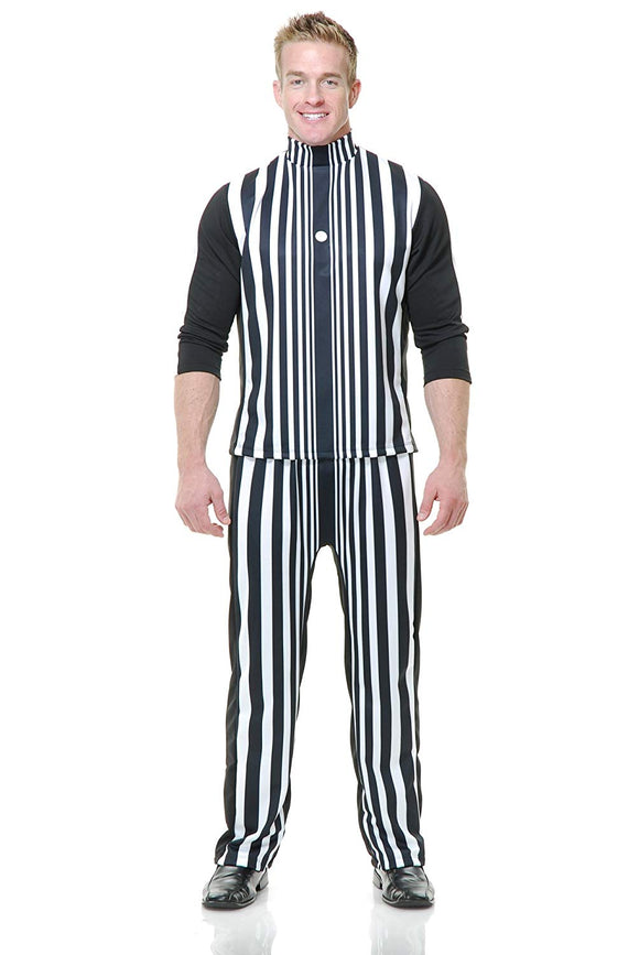 Mens Black & White Sheldon Cooper Doppler Effect Costume Halloween