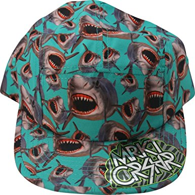 Sharks Jaws Markt Crshr Hats Sublimated Print