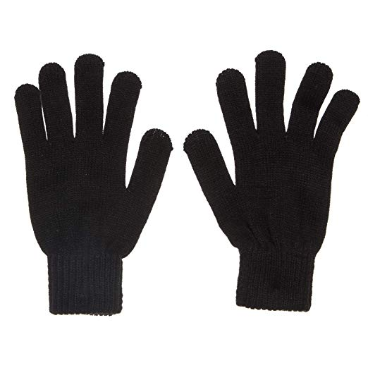Hanes Womens Plw Magic Knit Winter Gloves
