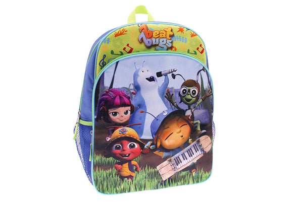 Netflix Beat Bugs Kids Show School Backpack