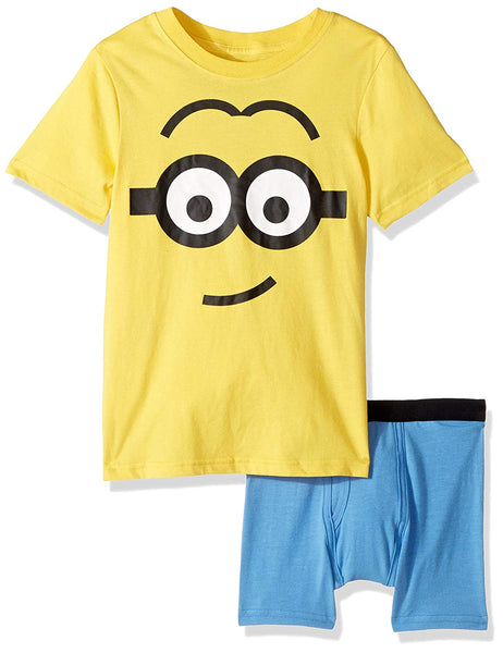 Boys Big Despicable Me Minions Boys Underoos T-Shirt and Brief Set