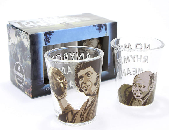 The Princess Bride Shot Glasses Loot Crate Exclusive Set of 2 Glasses