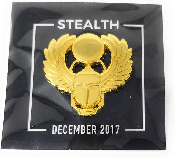 Golden Scarab Pin Loot Gaming Exclusive